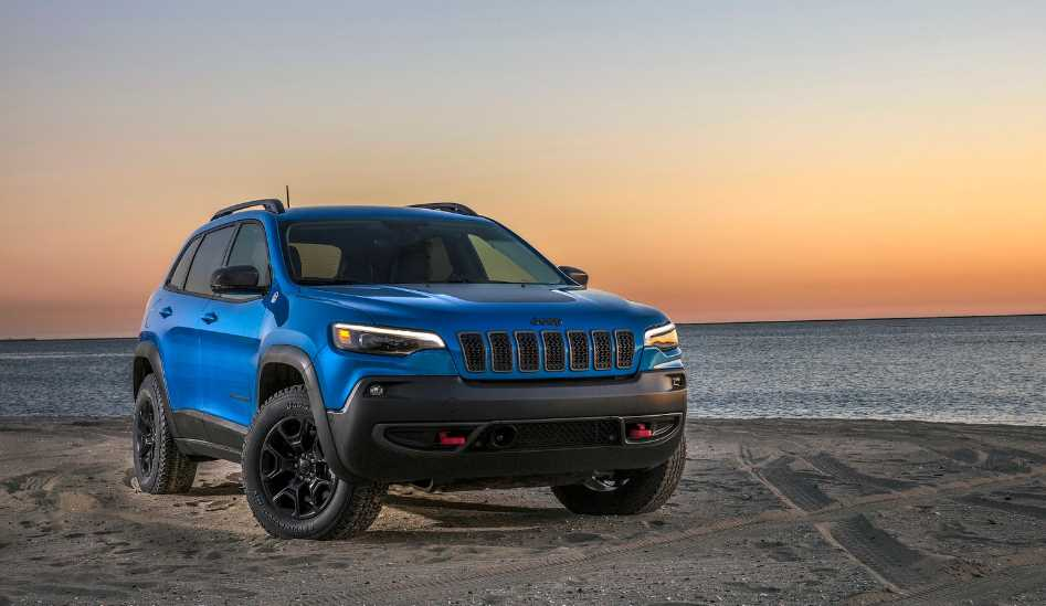 New 2022 Jeep Cherokee Trailhawk Exterior