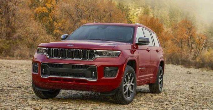 New 2022 Jeep Grand Cherokee 3rd Row, Colors, Dimensions