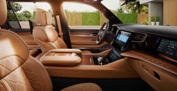 New 2022 Jeep Grand Wagoneer Interior, Release Date, Price
