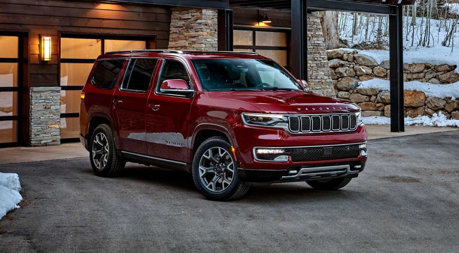 New 2022 Jeep Wagoneer Exterior